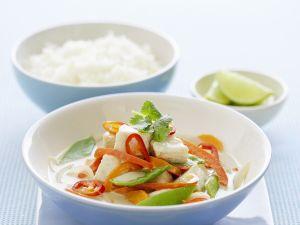 Fischcurry mit Kokos Rezept
