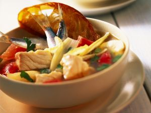 Fischeintopf auf mallorquinische Art Rezept