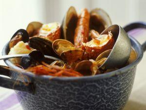 Fischeintopf auf spanische Art Rezept