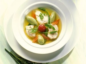 Fischeintopf mit Klößchen Rezept