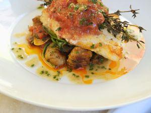 Fischfilet mit Kartoffeln und Tomaten Rezept