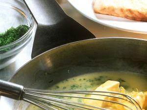 Fischfilet mit Zitronen-Buttersauce Rezept