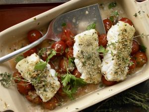 Fischfilets mit Mandelkruste Rezept