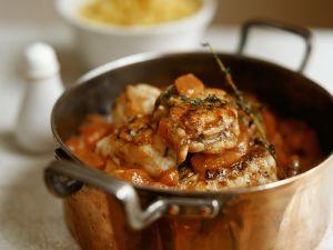 Fischgulasch mit Tomaten und Karotten Rezept