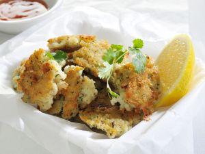 Fischküchlein mit Koriander Rezept