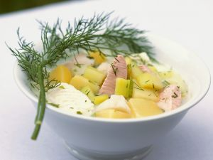 Fischragout mit Gemüse Rezept