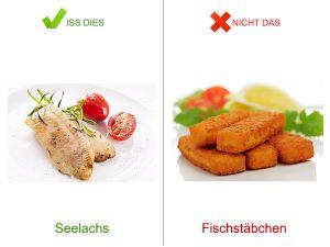 Iss dies, nicht das! - Fisch