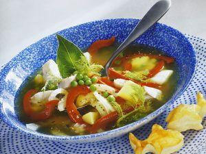 Fischsuppe mit Gemüse Rezept