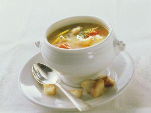 Fischsuppe mit Kartoffeln und Tomaten Rezept