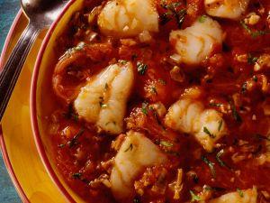 Fischtopf mit Tomaten Rezept
