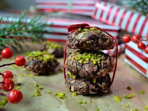 Zuckerfreie Weihnachtskekse ohne Backen