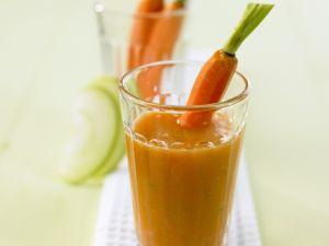 Apfel-Möhren-Smoothie Rezept