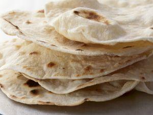 Fladenbrot auf indische Art (Chapati) Rezept