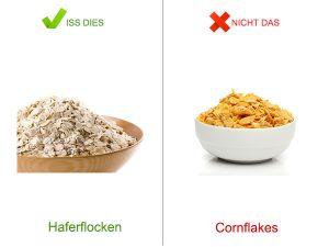 Gesunde Alternative: Frühstück