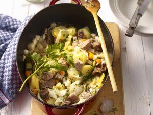 Fleischeintopf mit Gemüse Rezept