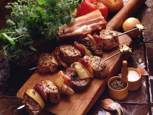 Fleischspieße Rezept