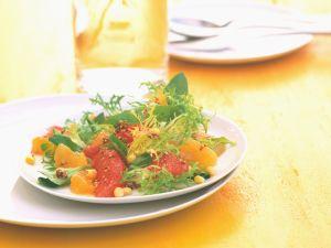 Florida-Salat mit Orangen und Grapefruits Rezept