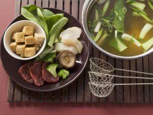 Fondue nach chinesischer Art Rezept