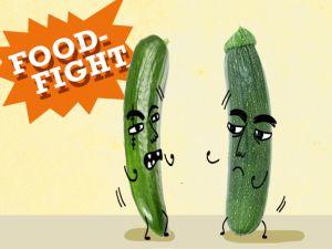 Food Fight: Zucchini vs. Gurke!
