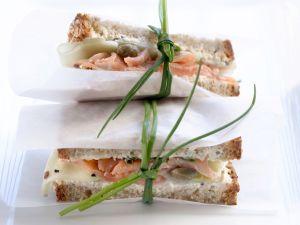 Forellen-Sandwich Rezept