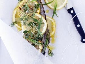 Forellen-Zitronen-Päckchen Rezept