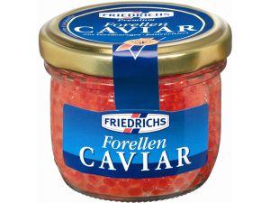 Friedrichs Forellen-Caviar hat ein klares Korn