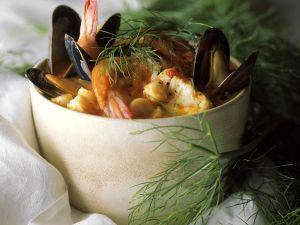 Französische Fischsuppe (Bouillabaisse) Rezept