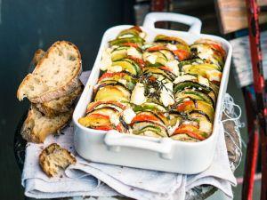 Französischer Gemüsetian mit Käse Rezept