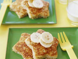 French Toast mit Bananen Rezept