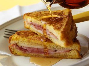 French Toast mit Schinken-Käsefüllung Rezept