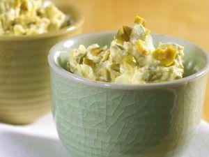 Frischkäse-Olivencreme Rezept