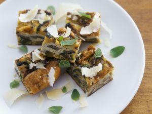 Frittata mit Austernpilzen und Zucchini Rezept