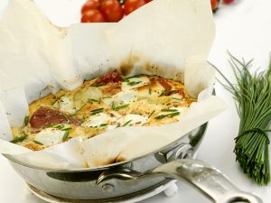 Frittata mit Kartoffeln und Käse Rezept