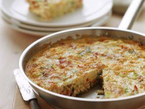 Frittata mit Schinken und Feta Rezept