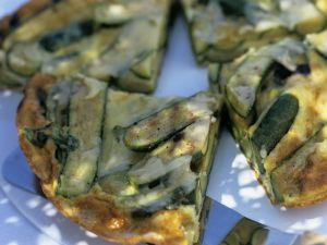 Frittata mit Zucchini Rezept