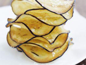 Frittierte Auberginenhobel Rezept