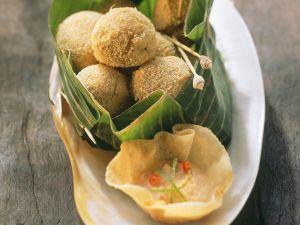Frittierte Garnelen-Bällchen mit Chilisauce Rezept