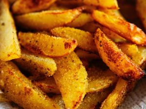 Frittierte Kartoffelecken Rezept