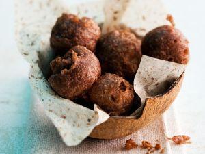 Frittierte Kokos-Reis-Kugeln Rezept