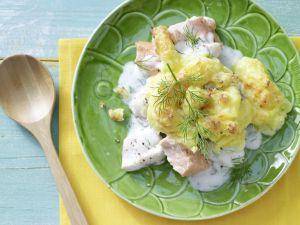 Fritzchens feiner Fischauflauf Rezept