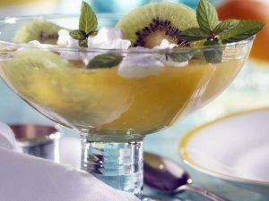 Frozen Bellini mit Kiwi Rezept