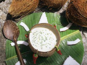 Fruchtige Kokossuppe Rezept