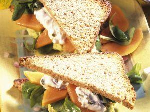 Fruchtige Salat-Sandwiches Rezept