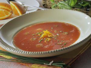 Fruchtige Tomatensuppe Rezept