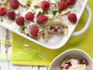 Fruchtiger Joghurt-Biskuit-Auflauf Rezept