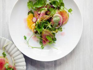 Fruchtiger Kressesalat Rezept