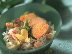 Fruchtiger Reis mit Schweinefilet Rezept