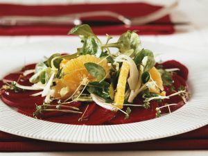 Fruchtiger Rote Bete-Salat Rezept