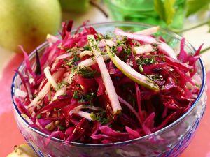 Fruchtiger Rotkohlsalat Rezept
