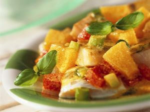 Fruchtiges Fisch-Curry Rezept